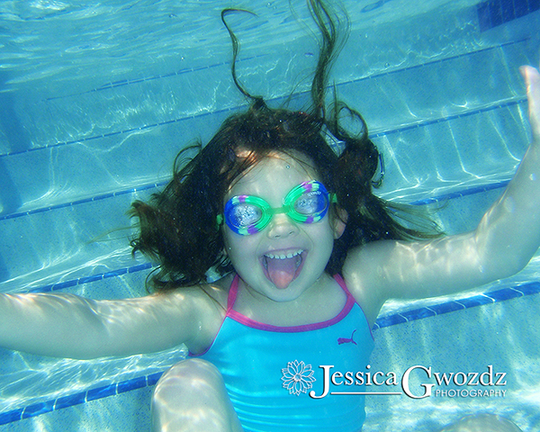 Testing out the underwater camera