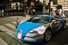 Bugatti Veyron 16.4 Centenaire (Pablo F. Alcocer) Tags: paris france slr car mercedes benz hotel europe place sigma exotic chrome mclaren concorde 164 mm bugatti 18200 spotting centenaire supercars veyron crillon sd14 722s