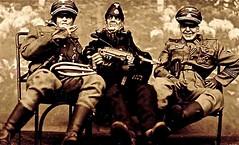 "photo shoot: ""The professionals"" (THE ART OF STEFAN KRIKL) Tags: army miniatures miniature holocaust miniatureart military nazi poland ww2 killers diorama professionals murderer serialkillers miniaturephotography generalgouvernment"