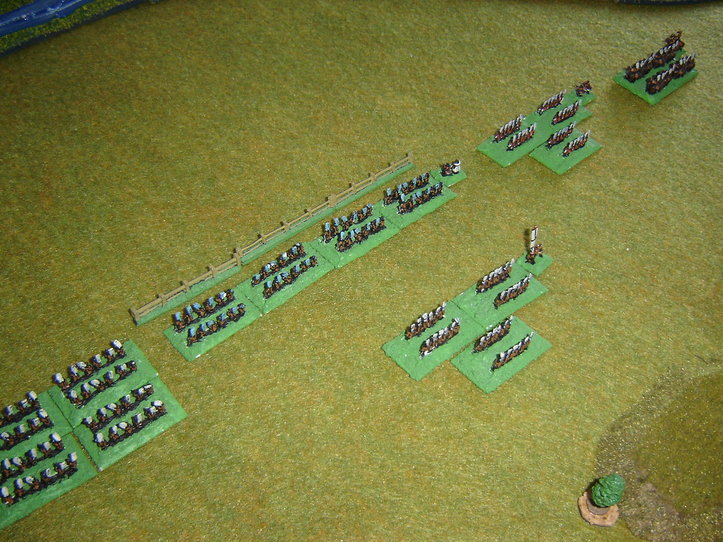 Tokugawa advance to the palisade line