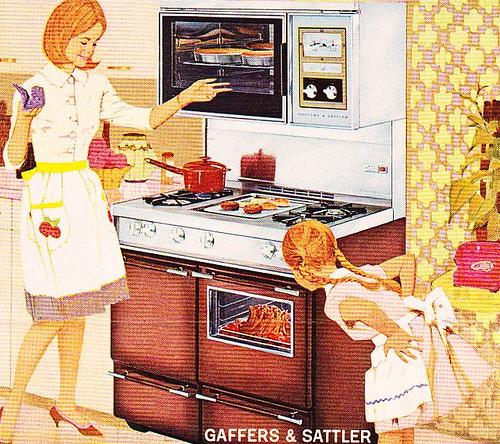 1965 Gaffers & Sattler Ovens Ad