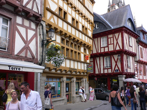 Old town at Vannes, Brittany