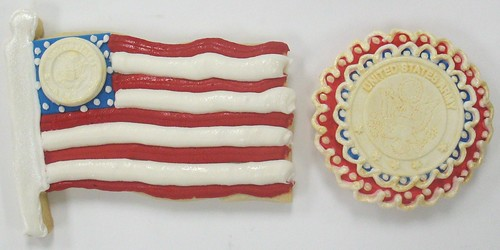 [Image from Flickr]:United States Army Cookies