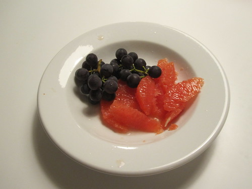 fruit plate - from groceries