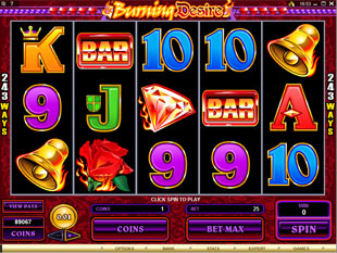 Burning Desire slot game online review