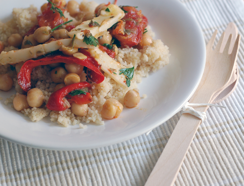 Chickpea Salad with Couscous