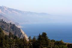 View from Nepenthe Restaurant, Big Sur CA (dj326CA) Tags: california fog coast pacificocean nepentherestaurant