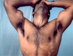 delicious (rivertexas1) Tags: hairy male neck muscle chest biceps throat armpits