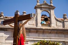 Imagen del Stmo. Cristo del Caloco junto a su ermita (jorgeestevezphoto) Tags: españa spain fiestas segovia ermita castilla patronales procesión espaa elespinar procesin cristodelcaloco