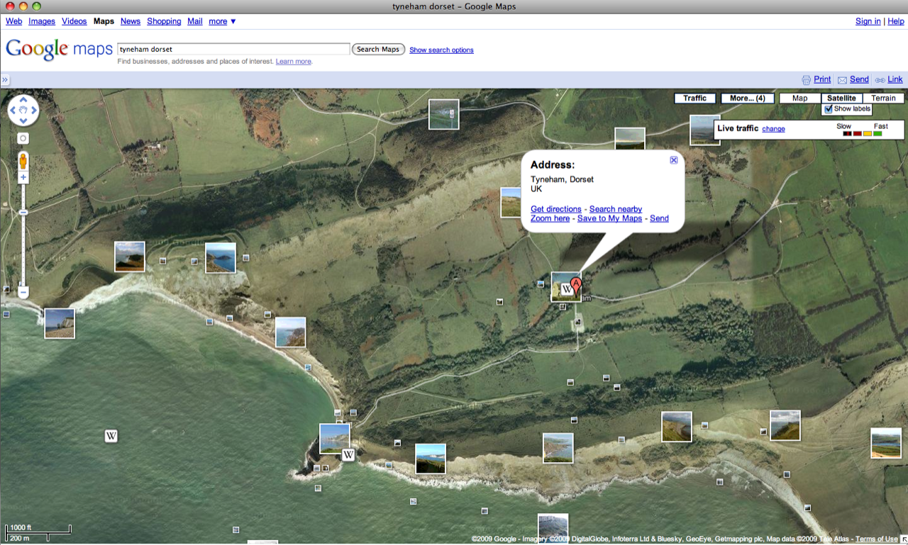 mapping Tyneham