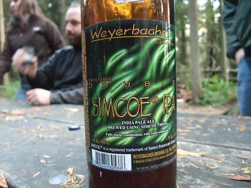 Weyerbacher Unfiltered Double Simcoe IPA - seriously fantastic.