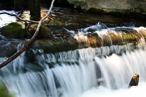 Krioklys prie Stankos ežero