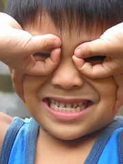 Happy Boy Monday (Gilbert Rondilla) Tags: camera blue boy portrait people color male smile up vertical closeup kids children point asian happy photography photo kid nikon funny shoot child close philippines son grin gilbert filipino digicam wacky notmycamera own pinoy offspring s10 adik borrowedcamera pns rondilla notmyowncamera gilbertrondilla gilbertrondillaphotography luisianian familygetty2010 gettyimagesphilippinesq1