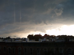 Cool clouds over Brooklyn (yankeesmann1918) Tags: cloud wall brooklyn shelf thunderstorm cumulonimbus