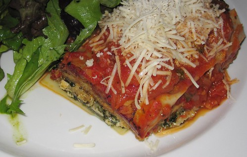lasagna at shakahari