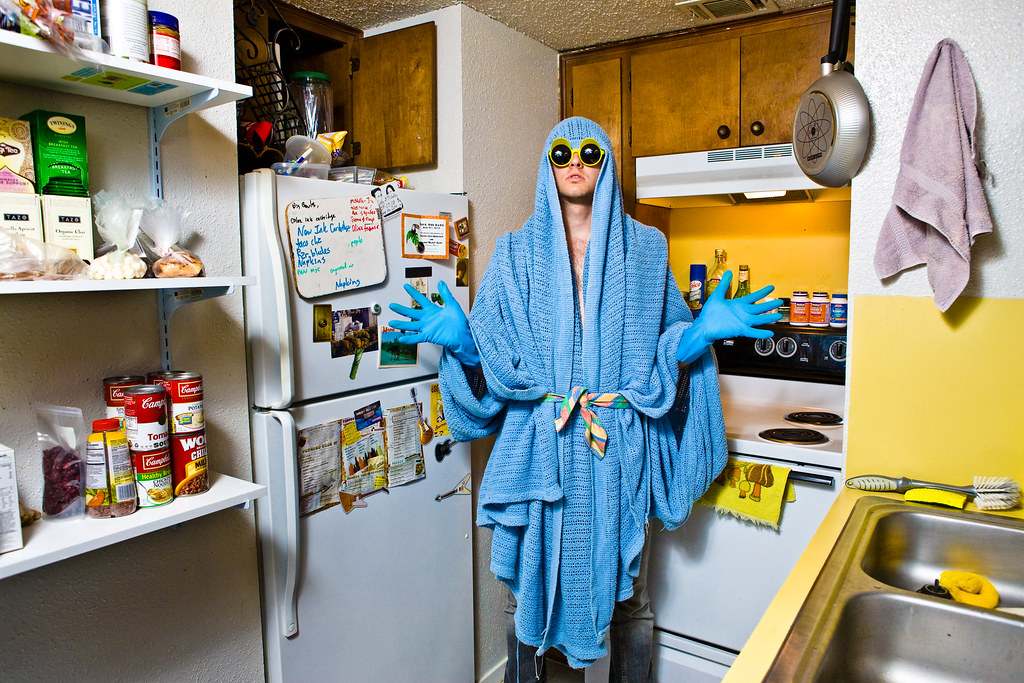 Travis in His Kitchen, 2008