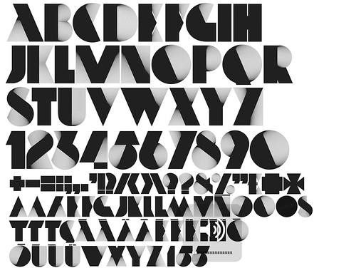 Neo Deco Typeface / Alex Trochut Exclusive HypeForType Fonts