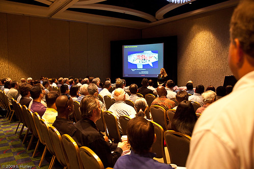 Lynn Allen on the See the Difference with AutoCAD 2010 Tour in Orlando by you.