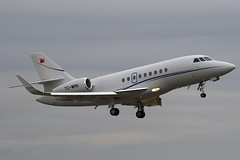 TC-MRK - 193 - Private - Dassault Falcon 2000LX - Luton - 091009 - Steven Gray -  IMG_0173
