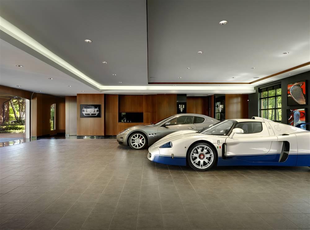 world's most beautiful garages & exotics: insane garage picture