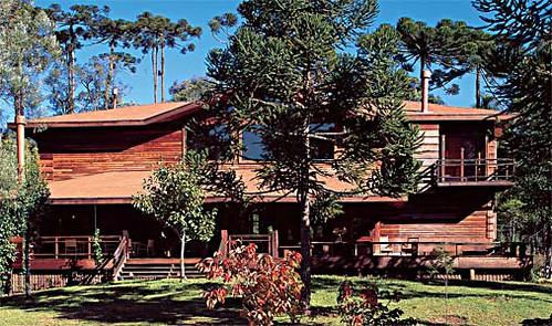 casas de madeiras fotos