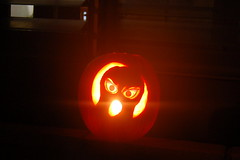 Screamer Jack o' lantern