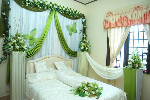 contoh hiasan kamar pengantin