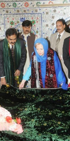U.S. Secretary of State's Visit to Shrine of Sufi Saint Bari Imam