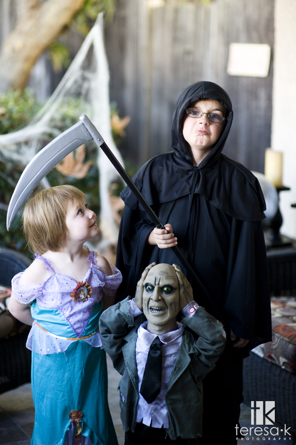 Happy Haloween from Teresa K photography, children costume ideas