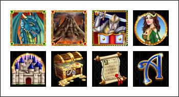 free Mystic Dragon slot game symbols