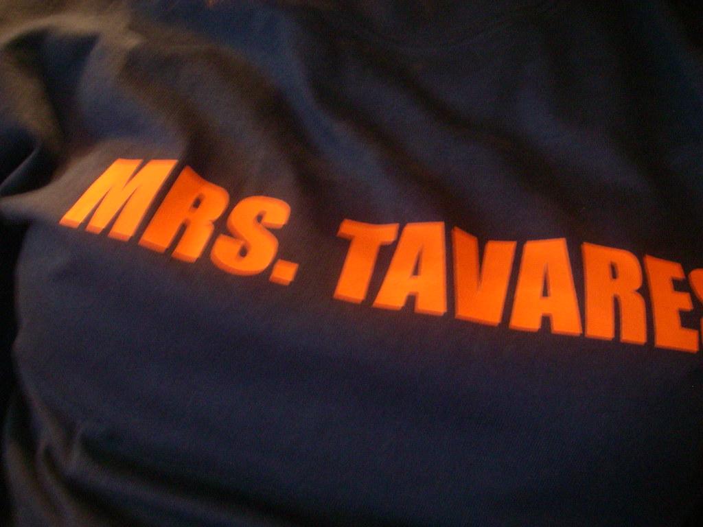 Mrs. Tavres shirt
