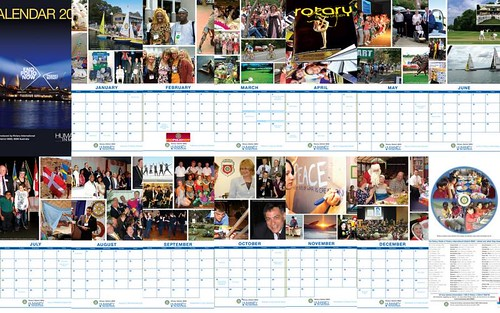 Humanity in Motion - 2010 Calendar Mosaic
