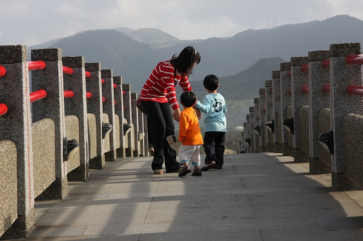 金山水尾漁港員潭溪景觀橋0026