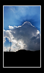 A Shadowing (linci+linci) Tags: sun silhouette clouds teaplantation