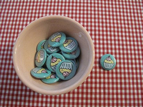 Fancy Cupcake Badges.