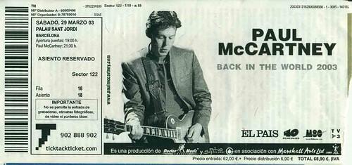 Flickriver: Photoset '2003 Ticket Stubs' by Joe Merchant