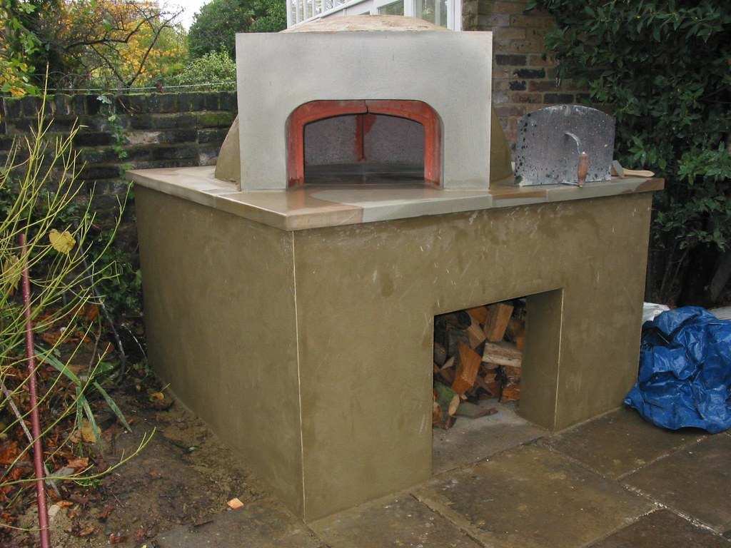 oven before painting