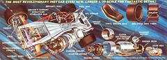 1967 STP Turbine Car Chassis and Engine (torinodave72) Tags: andy car jones silent sam vince bad engine joe rufus whitney 1967 chassis turbine pratt bearing stp 550 parnelli granatelli st6b62 horsrpower