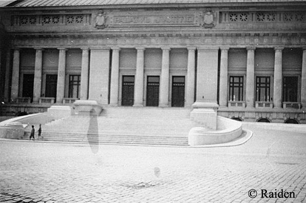 Palatul Justitiei in 1938