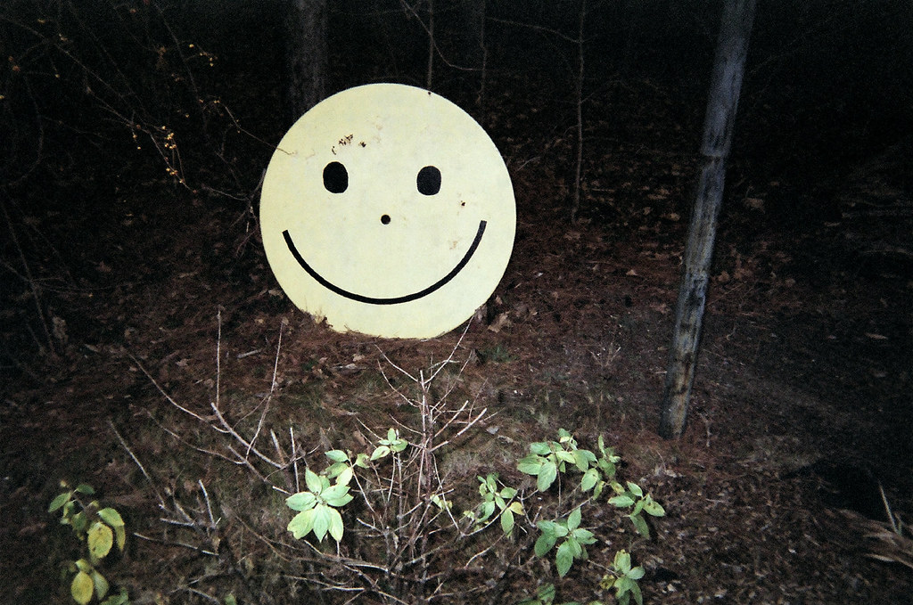 smiley face table