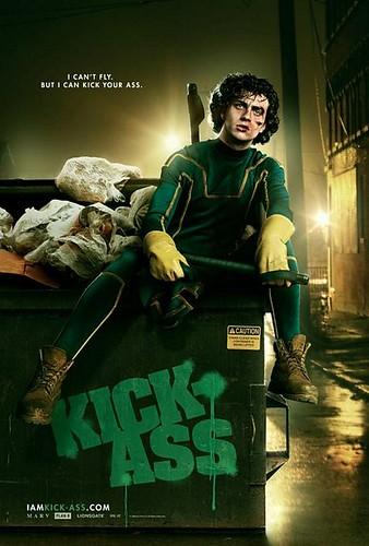 kickass movie poster