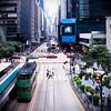 Dynamic lines (CuriousLight) Tags: street color colour square hongkong central tram 香港 couleur marche 1x1 carré bsquare marche2 marche3 carréfrançais marche5 marche4