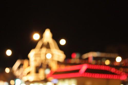Holiday blur