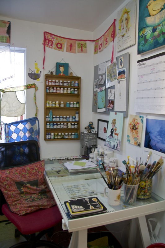 our art studio