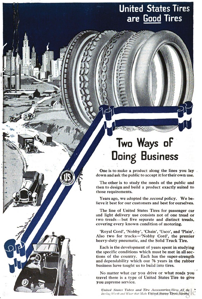 United States Tires are Good Tires ad