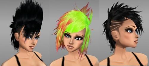 IMVU Hair