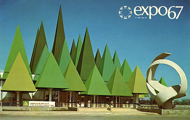 Expo 67 - pulp and paper