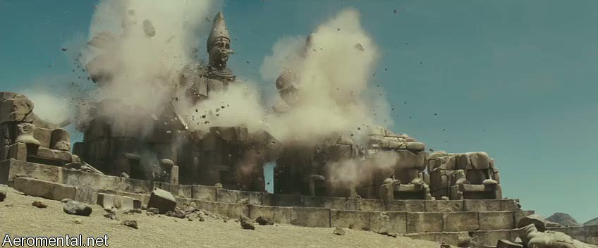 Clash of the Titans palace