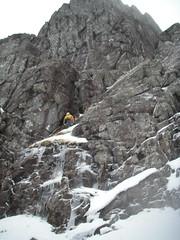 Scabbard Chimney, Stob Coire nan Lochan, Glencoe