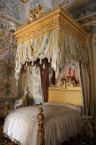 Canopy Bed inside Pavlovsk Palace